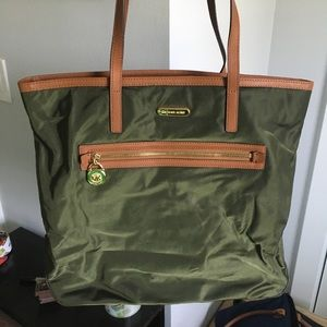 Michael Kors Army Green Purse